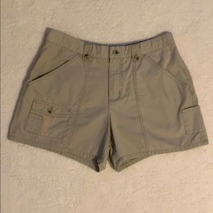 Columbia Khaki Cotton Shorts